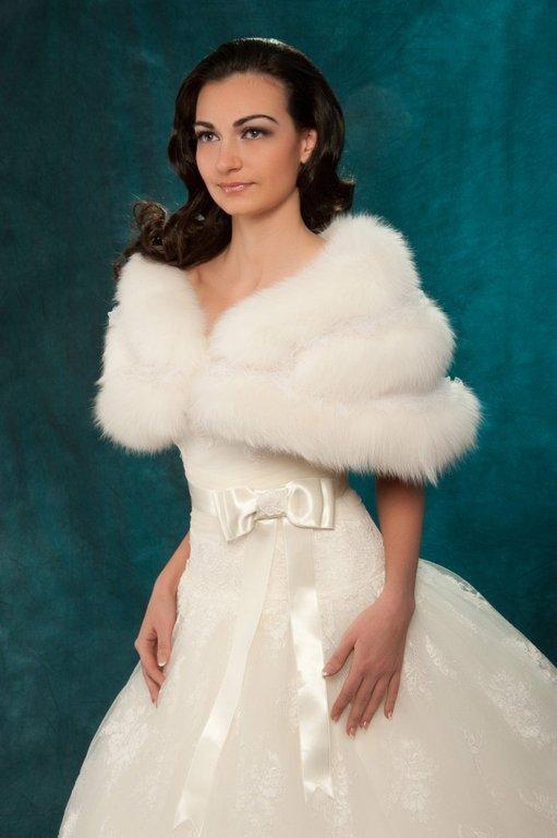 Накидки для невесты фото